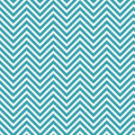Westcott Classic Chevron Matte Vinyl Backdrop with Hook-and-Loop Attachment (3.5 x 3.5', Bold Turquoise)