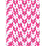 Westcott Classic Chevron Art Canvas Backdrop with Grommets (5 x 7', Bold Pink)
