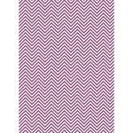 Westcott Classic Chevron Art Canvas Backdrop with Grommets (5 x 7', Bold Purple)