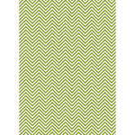 Westcott Classic Chevron Matte Vinyl Backdrop with Grommets (5 x 7', Bold Green)