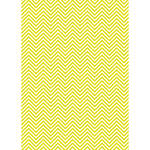 Westcott Classic Chevron Matte Vinyl Backdrop with Grommets (5 x 7', Bold Yellow)