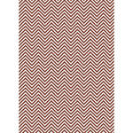 Westcott Classic Chevron Art Canvas Backdrop with Grommets (5 x 7', Rich Brown)
