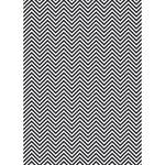 Westcott Classic Chevron Art Canvas Backdrop with Grommets (5 x 7', Rich Gray)