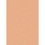 Westcott Classic Chevron Art Canvas Backdrop with Grommets (5 x 7', Rich Orange)