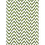 Westcott Narrow Chevron Art Canvas Backdrop with Grommets (5 x 7', Green)