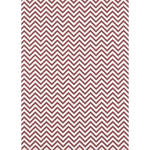 Westcott Narrow Chevron Matte Vinyl Backdrop with Grommets (5 x 7', Red)