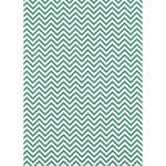 Westcott Narrow Chevron Matte Vinyl Backdrop with Grommets (5 x 7', Turquoise)