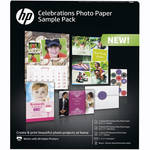 HP Celebrations Photo Paper Sample Pack