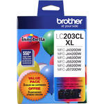 Brother Innobella LC2033PKS High Yield 3-Color Ink Cartridge Set