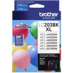 Brother LC203BK Innobella High Yield XL Series Black Ink Cartridge