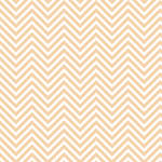 Westcott Classic Chevron Matte Vinyl Backdrop with Hook-and-Loop Attachment (3.5 x 3.5', Light Orange)