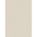 Westcott Classic Chevron Matte Vinyl Backdrop with Grommets (5 x 7', Light Brown)