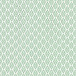 Westcott Modern Damask Art Canvas Backdrop with Hook-and-Loop Attachment (3.5 x 3.5', Light green)