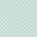 Westcott Modern Damask Art Canvas Backdrop with Hook-and-Loop Attachment (3.5 x 3.5', Light Turquoise)
