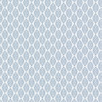 Westcott Modern Damask Matte Vinyl Backdrop with Hook-and-Loop Attachment (3.5 x 3.5', Light Blue)
