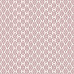Westcott Modern Damask Matte Vinyl Backdrop with Hook-and-Loop Attachment (3.5 x 3.5', Light Red)