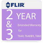 FLIR 2 and 3-Year Extended Warranty for T640 and T640bx IR Cameras