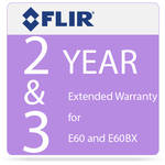 FLIR 2 and 3 Year Extended Warranty for E60 and E60bx Camera