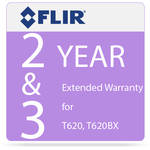 FLIR 2 and 3-Year Extended Warranty for T620 and T620bx IR Cameras