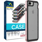 Tech Armor ELITE ShockTech Case for iPhone 7 Plus (Rose Gold/Clear)