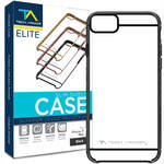 Tech Armor ELITE SlimShield Case for iPhone 7 Plus (Black/Clear)