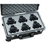 Jason Cases Protective Case for Set of 6 Arri Ultra Prime Lenses (Compact)