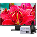"NEC EA245WMI-BK-SV 24"" 16:10 IPS Monitor with SpectraViewII"