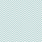 Westcott Classic Chevron Art Canvas Backdrop with Hook-and-Loop Attachment (3.5 x 3.5', Light Turquoise)