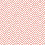 Westcott Classic Chevron Art Canvas Backdrop with Hook-and-Loop Attachment (3.5 x 3.5', Light Red)