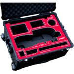 Jason Cases Protective Case for Canon 50-1000mm Lens (Red Overlay)