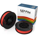 Tiertime UP Fila PLA Filaments (Scarlet Orange, 2 x 500g Rolls)