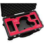 Jason Cases Protective Case for Fujinon 19-90mm T2.9 Cabrio Lens (Red Overlay)