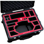Jason Cases Protective Case for Movi Controller (Red Overlay)