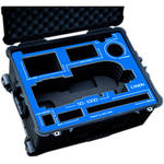 Jason Cases Protective Pelican Case for Freefly MoVI M10 Gimbal Stabilizer with Cage (Black Overlay)