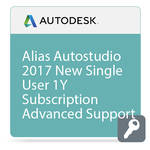 Autodesk Alias AutoStudio 2017 with Advanced Support (1-Year Subscription, Download)