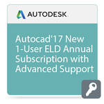 Autodesk AutoCAD 2017 with Advanced Support (1-Year Subscription, Download)