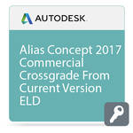 Autodesk Alias Concept 2017 Commercial Crossgrade from Current Version ELD