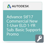 Autodesk Advance Steel 2017 Commercial New Single-user ELD Annual Subscription - Basic Support - PROMO