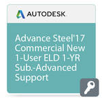 Autodesk Advance Steel 2017 with Advanced Support (1-Year Subscription, Download)