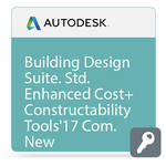 Autodesk Building Design Suite Standard Enhanced Cost and Constructability Tools 2017 Commercial New Single-user