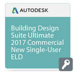 Autodesk Building Design Suite Ultimate 2017 Commercial New Single-user ELD