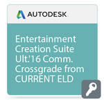 Autodesk Entertainment Creation Suite Ultimate 2016 Commercial Crossgrade from Current Version ELD
