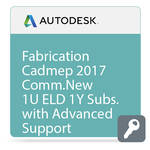 Autodesk Fabrication CAMduct 2017 Commercial New Single-user ELD Annual Subscription - Advanced Support
