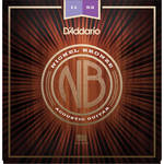 D'Addario NB1152 Custom Light Nickel Bronze Acoustic Guitar Strings (6-String Set, 11-52)