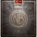 D'Addario NB1656 Resophonic Nickel Bronze Acoustic Guitar Strings (6-String Set, 16-56)