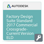 Autodesk Factory Design Suite Standard 2017 Commercial Crossgrade from Current Version ELD
