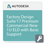 Autodesk Factory Design Suite Premium 2017 Commercial New Single-user ELD Annual Subscription - Basic Support