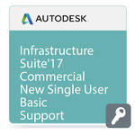 Autodesk Infrastructure Design Suite Standard 2017 Commercial New Single-user ELD Annual Subscription - Basic Support