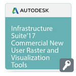 Autodesk Autodesk Infrastructure Design Suite Standard Raster + Visualization Tools 2017 Commercial New Single-user
