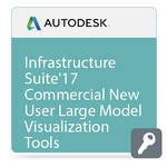Autodesk Infrastructure Design Suite Standard Large Model Visualization Tools 2017 Commercial New Single-user